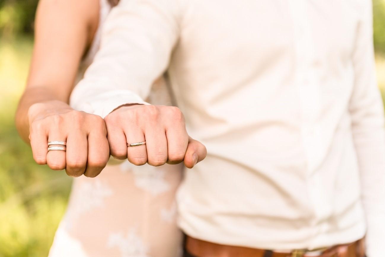 Alianza de boda.